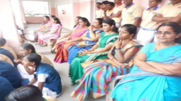 Teacher's day Special assembly in connection with teacher's day