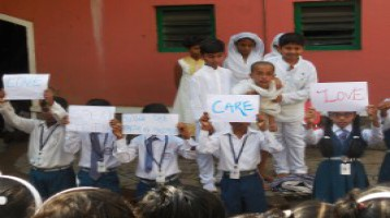 Gandhi Jayanthi Special assembly in connection with 150th Birthday of Mahatma Gandhi