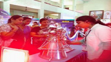 Students visited Mercy College Palakkad for an exhibition