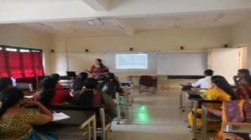 Session by the Principal based on Capacity Building Program on Career Guidance.