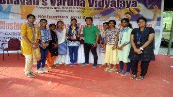 Under 17 School Volleyball team won 3rd Prize in All Kerala CBSE Volleyball competition held at Bhavan's Varuna Vidyalaya, Thrikkakara, Eranakulam on 14th & 15th October 2018.