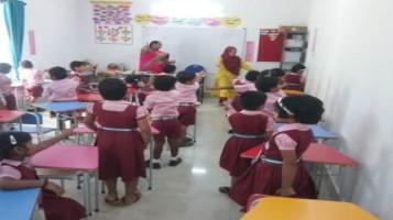 KG Memory Game at Ahalia Public School
