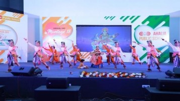 School Annual Day Celebrated with various cultural event. The program was conducted from Ahalia Women Children's Hospital, Auditorium. Around 1500 parents graced the occasion with their presence.