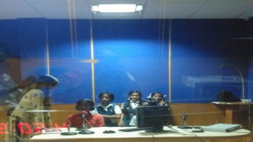 Children's Day: Children of Ahalia Public School anchored all the Programs for Ahalia FM Radio.