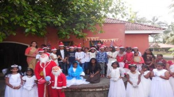 Christmas day celebration at Ahalia Public School