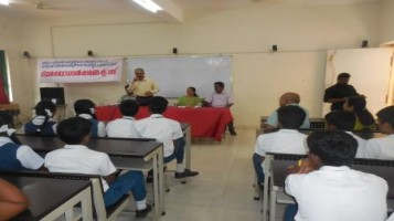 """Legal awareness program has been conducted at APS. Eminent personalities from District Legal Service Authority, Palakkad delivered sessions on the topic """"Harassments towards students and Indian law""""."""