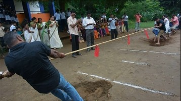 In connection with In connection with Onam Celebration, conducted various competitions for Parents at Ahalia Public School