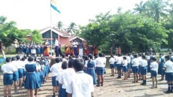 Independence Day Celebrated at Ahalia Public School