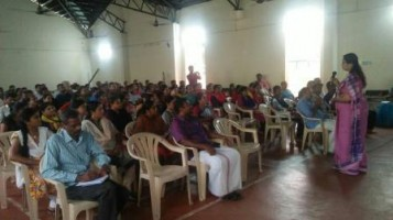 Meeting for class 1 and 2 parents held in order to discuss the curriculum related matters