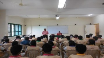 """One Day Motivation Training Program: - Mr. Mannattil Ravi delivered class for Tenth and Plus Two Students on topic """"Script Your Success"""" and one hour session on """"Effective Parenting"""" for Parents and Teachers."""