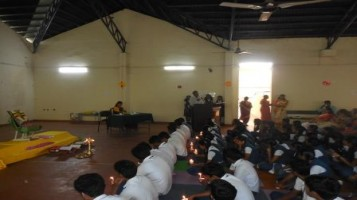 Prayer meeting conducted in connection with Class X and XII CBSE Board examination