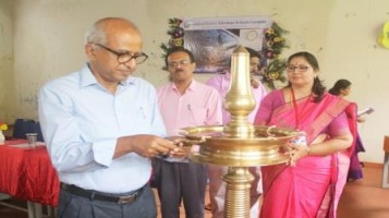"""Science Exhibition """"Pradyot 2019"""" Valedictory Function, Chief Guest was Sri. K.L. Sebastian, Professor and Dean, Academic Research, IIT, Palakkad"""