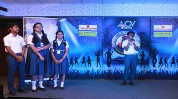 Some students attended ACV audition for Excellent Singer of Kerala 2019 Musical reality show.