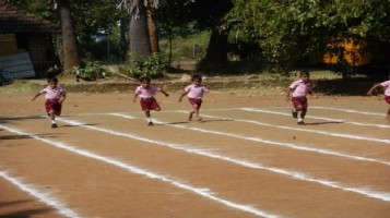 KG Sports Meet at Ahalia Public School