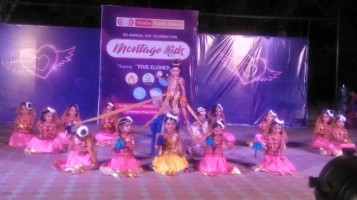 KG Annual Day conducted at Ahalia Public School